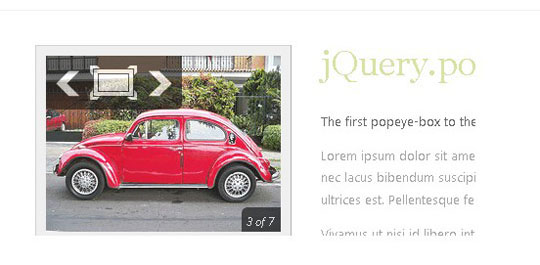 32.jquery image and content slider plugin