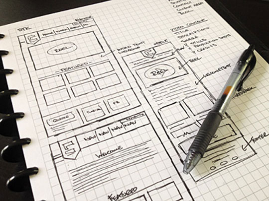 30 Great Examples Of Web Design Sketches Designbeep