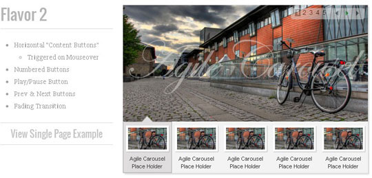 94.jquery image and content slider plugin
