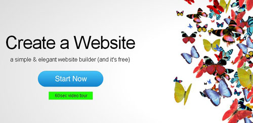 12.free website builder