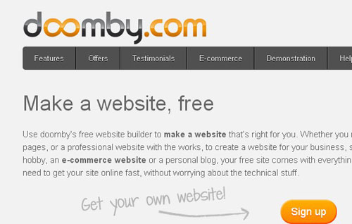15.free website builder