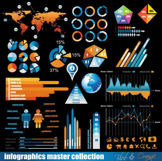 15.infographic vector elements