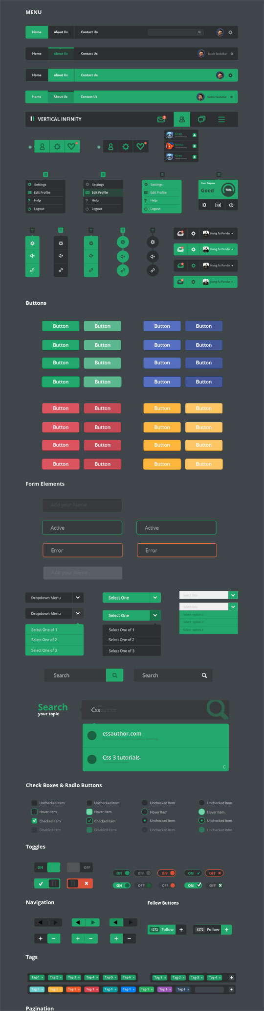 weekly fresh resources for designers and developers