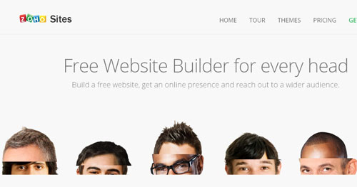 19.free website builder