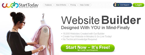 4.free website builder