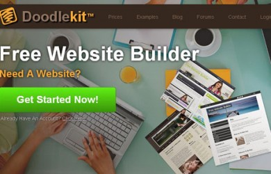 5.free website builder