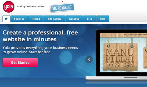 6.free website builder