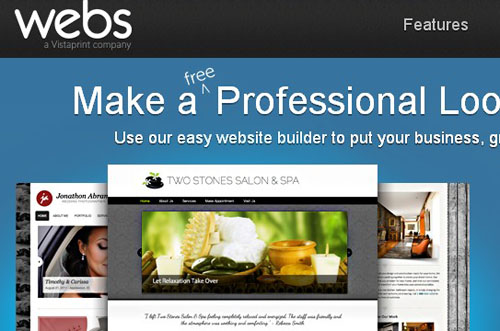 7.free website builder