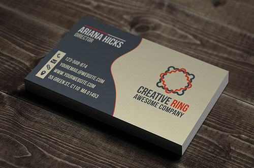 50 New And Absolutely Free Business Card Templates PSD