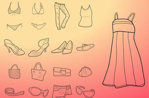 free fashion vector