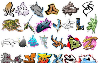 3.graffiti brushes