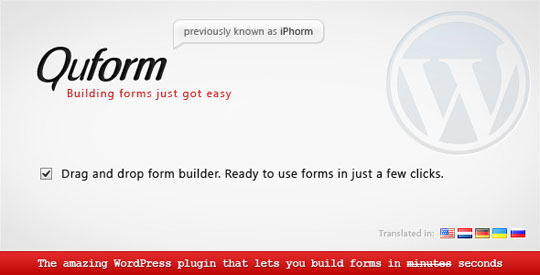 4.wordpress form plugin