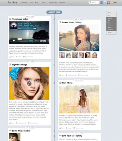 4.wordpress themes