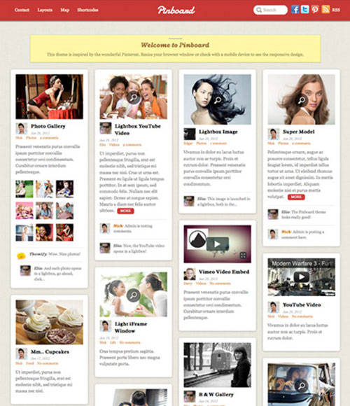 6.wordpress themes