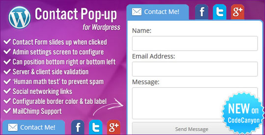 7.wordpress form plugin