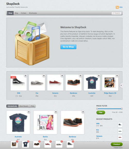 7.wordpress themes