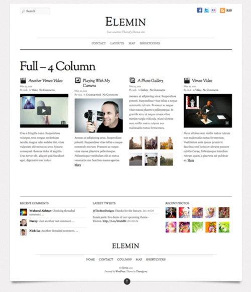 8.wordpress themes