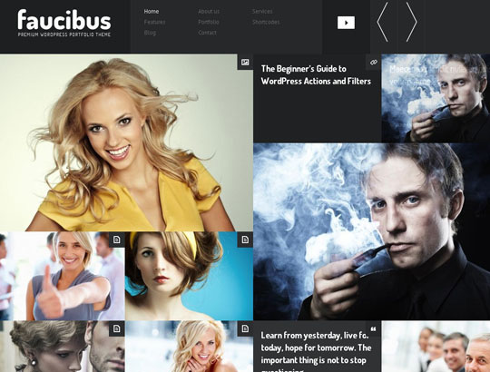 10.grid wordpress themes