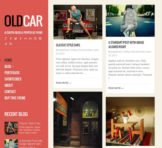 12.grid wordpress themes