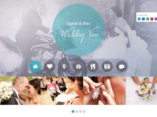 12.wordpress wedding themes