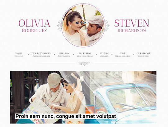 15.wordpress wedding themes