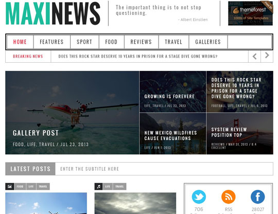 best wordpress responsive themes