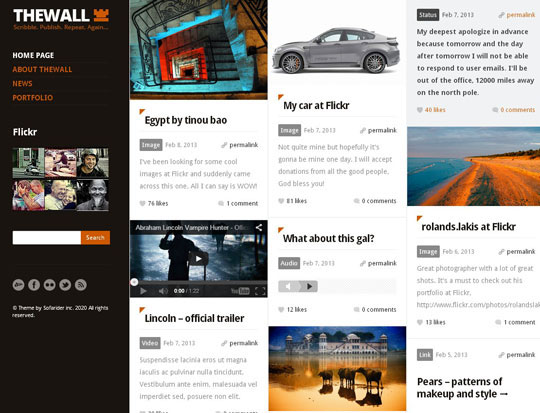 19.grid wordpress themes