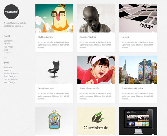 2.grid wordpress themes