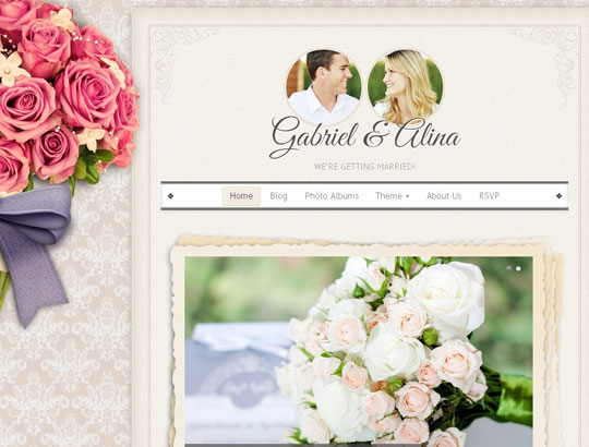 2.wordpress wedding themes