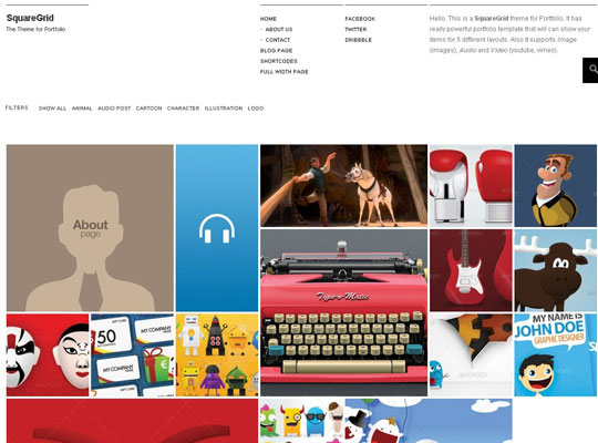 22.grid wordpress themes