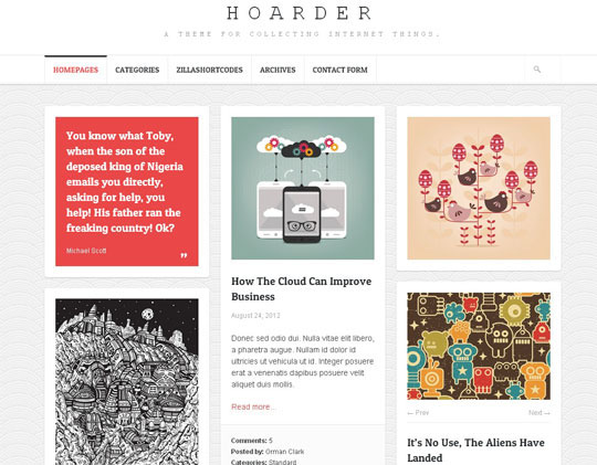 23.grid wordpress themes