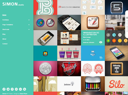 26.grid wordpress themes
