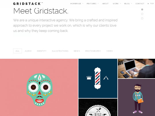 28.grid wordpress themes