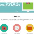 3.flat responsive wordpress themes