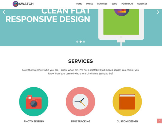 Really High Quality Flat Design And Multipurpose Business Wordpress Themes
