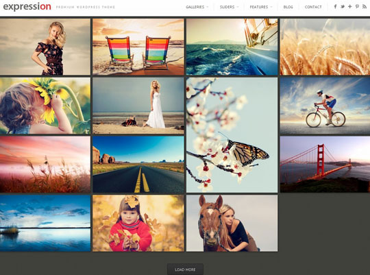3.grid wordpress themes