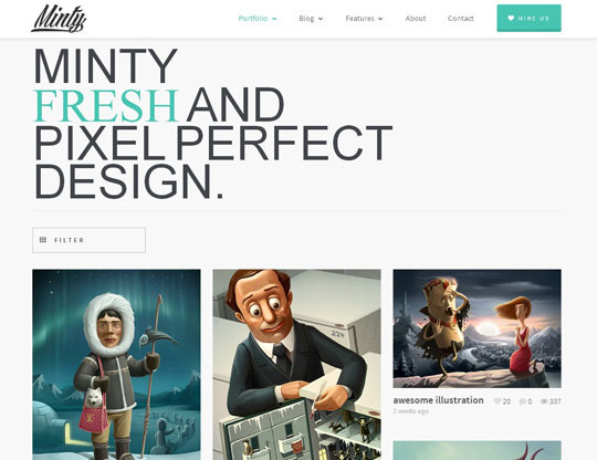 4.best portfolio wordpress themes