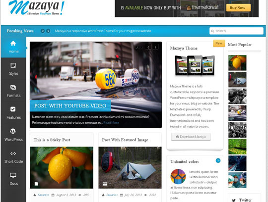 30 High Quality Wordpress Themes Perfect For Magazine or News Blog ...