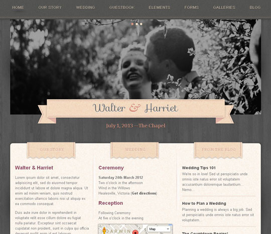 4.wordpress wedding themes