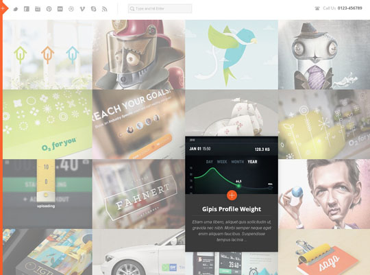 5.grid wordpress themes
