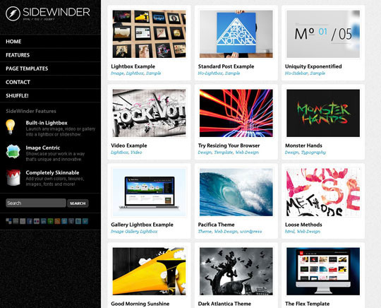 7.grid wordpress themes