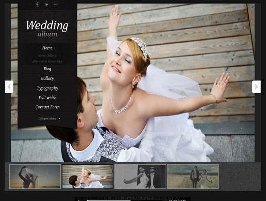 7.wordpress wedding themes