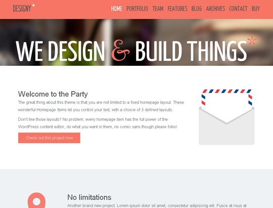 8.flat responsive wordpress themes