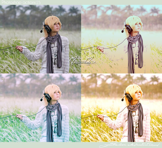 free portrait photoshop actions