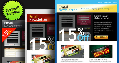 Graphicsfuel-psd-email-template-home