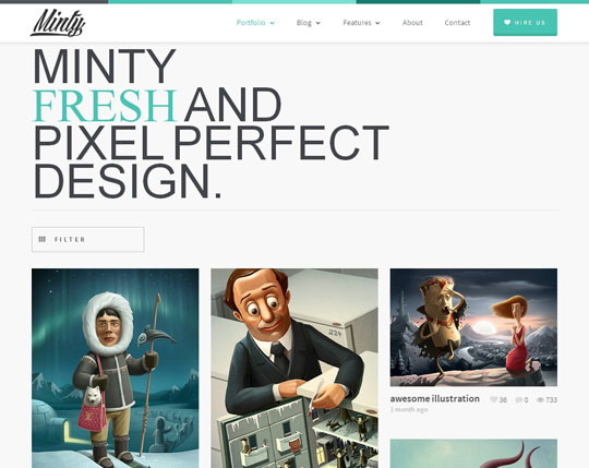 11.web design inspiration