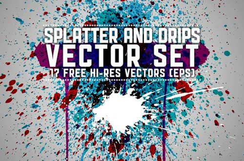 17.Splatters vectors