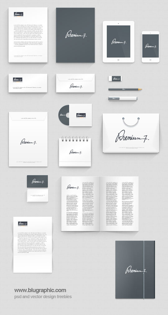 23 free sets of branding identity mockup templates psd to present your company in a modern way. Black Bedroom Furniture Sets. Home Design Ideas