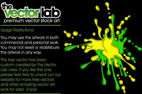 20.Splatters vectors