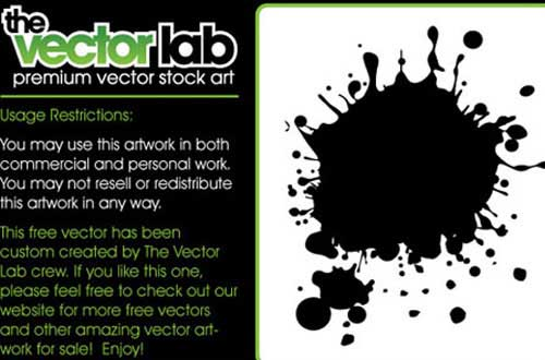 3.Splatters vectors